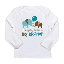Big Brother to be - Elephant Long Sleeve T-Shirt