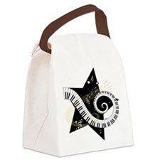 musicalstar.png Canvas Lunch Bag