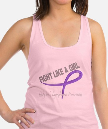 Fight Like A Girl 7.3D Hodgkins Lymphoma Tank Top