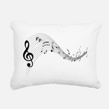 musicnotes4.png Rectangular Canvas Pillow
