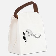 musicnotes4.png Canvas Lunch Bag