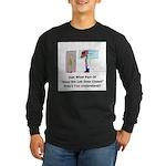 Oops! Long Sleeve Dark T-Shirt