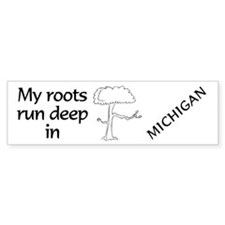 Michigan Roots Bumper Bumper Sticker