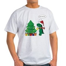 T-rex hates X-mas T-Shirt