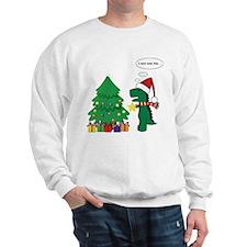T-rex hates Christmas Sweater