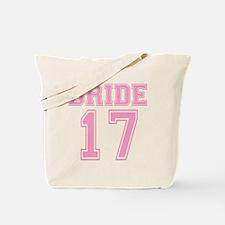 Bride 2017 Tote Bag