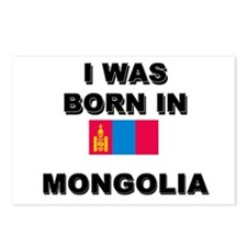 I Was Born In Mongolia Postcards (Package of 8)