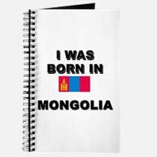I Was Born In Mongolia Journal