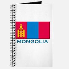 Mongolia Flag Stuff Journal