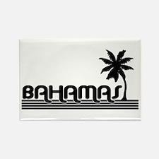 bahamaswhtpalm Magnets