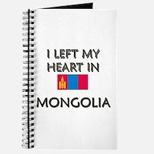 I Left My Heart In Mongolia Journal