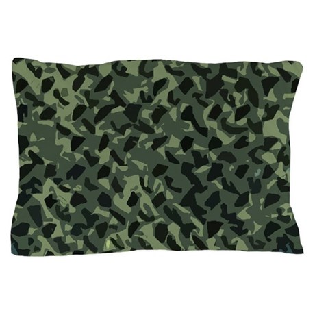 Camouflage Design Pillow Case