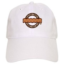 I put bacon on my bacon Baseball Cap