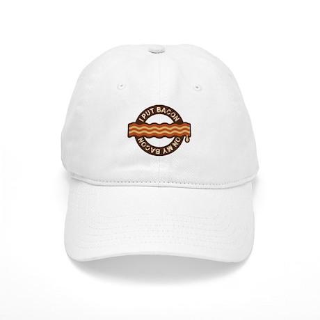 I put bacon on my bacon Cap
