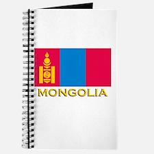 Mongolia Flag Gear Journal