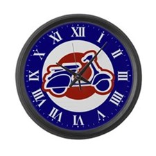 Scooter Mod clock Large Wall Clock
