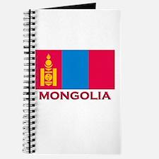 Mongolia Flag Merchandise Journal
