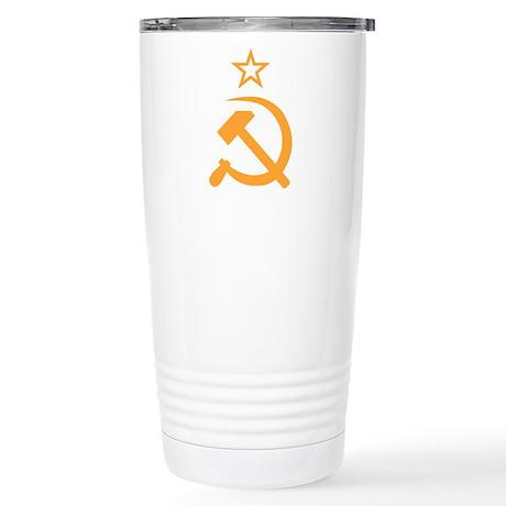 Soviet Stainless Steel Travel Mug