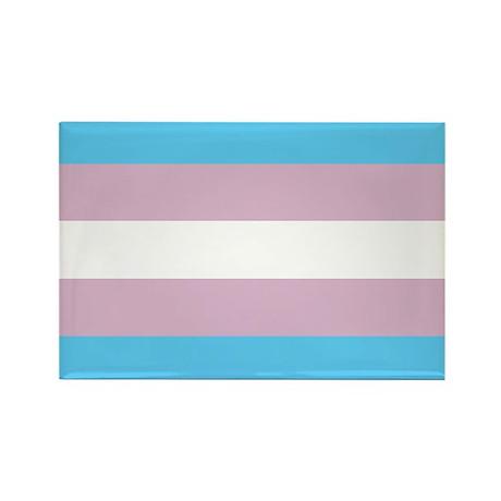 Transgender Pride Flag Rectangle Magnet