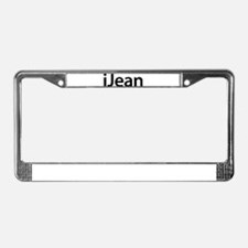 iJean License Plate Frame