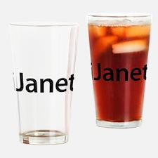 iJanet Drinking Glass