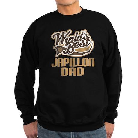 Japillon Dog Dad Sweatshirt (dark)