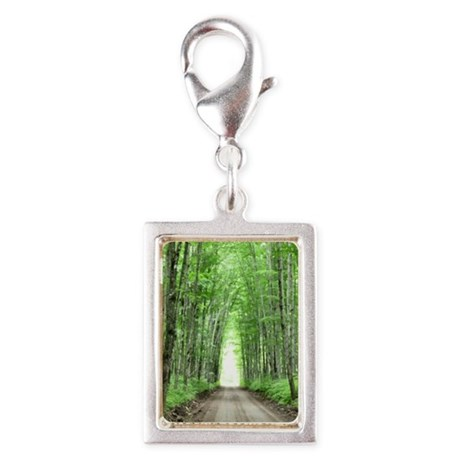 Cathedral Road Silver Portrait Charm