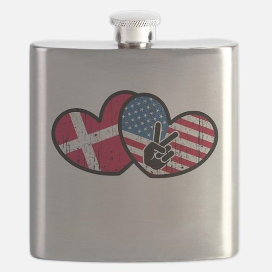 danish american Flask