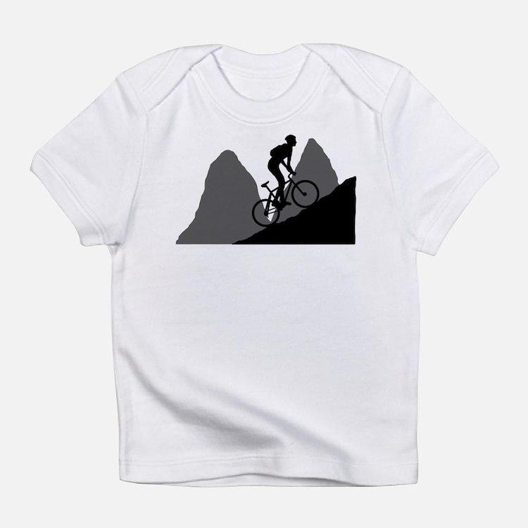 Mountain Biking Infant T-Shirt