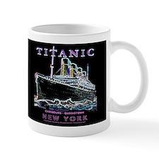 Titanic Neon (black) Mug