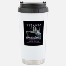 Titanic Neon (black) Stainless Steel Travel Mug