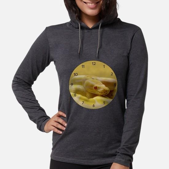 albinoball.png Womens Hooded Shirt