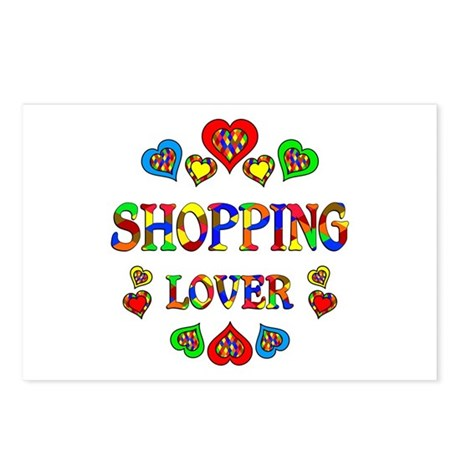 Shopping Lover Postcards (Package of 8)