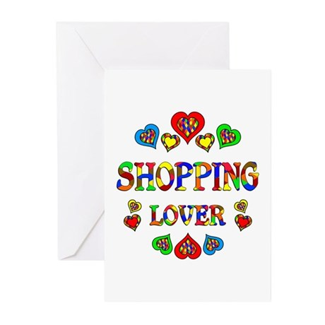 Shopping Lover Greeting Cards (Pk of 20)