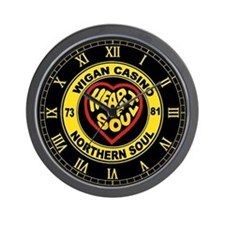 wiganclockyellow2.png Wall Clock