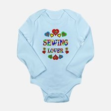 Sewing Lover Long Sleeve Infant Bodysuit