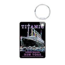 Titanic Neon (black) Keychains