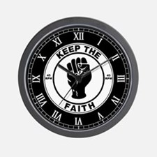 keepthefaithclock2.png Wall Clock