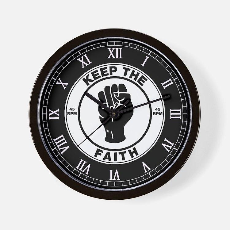 keepthefaithclock2.png Wall Clock
