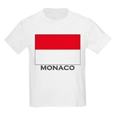 Flag of Monaco Kids T-Shirt