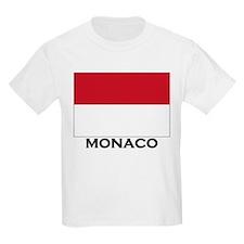 Flag of Monaco Kids T-Shirt