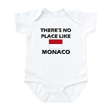 Flag of Monaco Infant Bodysuit