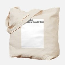 Read My Mind Tote Bag