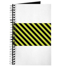 Warning Stripe Journal