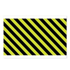 Warning Stripe Postcards (Package of 8)