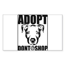Adopt, Don't Shop Decal
