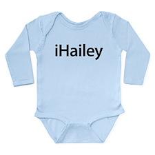iHailey Long Sleeve Infant Bodysuit