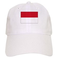 Monaco Flag Picture Baseball Cap