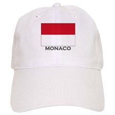Monaco Flag Stuff Baseball Cap