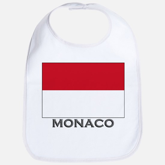 Monaco Flag Stuff Bib